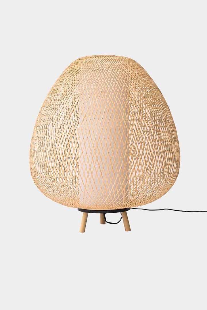 Twiggy Egg natural floorstand 1xE27