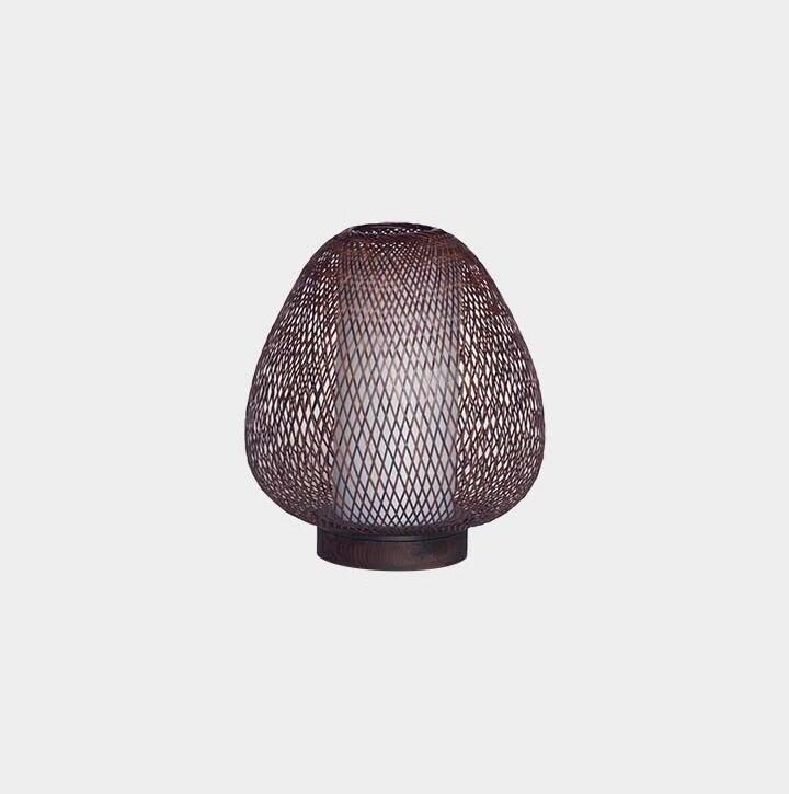 Twiggy AW table lamp brown 1xE27
