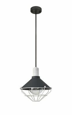 Danica Pendant, 1 Light E27, IP65, Anthracite/Matt White
