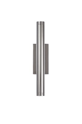 Bossa Wall Lamp, 2 x 3W LED, 3000K, 300lm, IP54, Polished Chrome