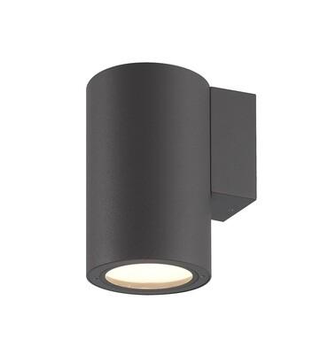 Volcano Wall Lamp, 1 x E27, IP54, Graphite