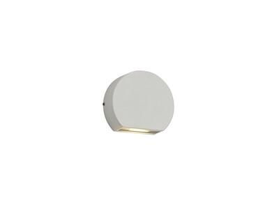 Lucina Wall Light 3W LED 3000K, Sand White, 270lm, IP54