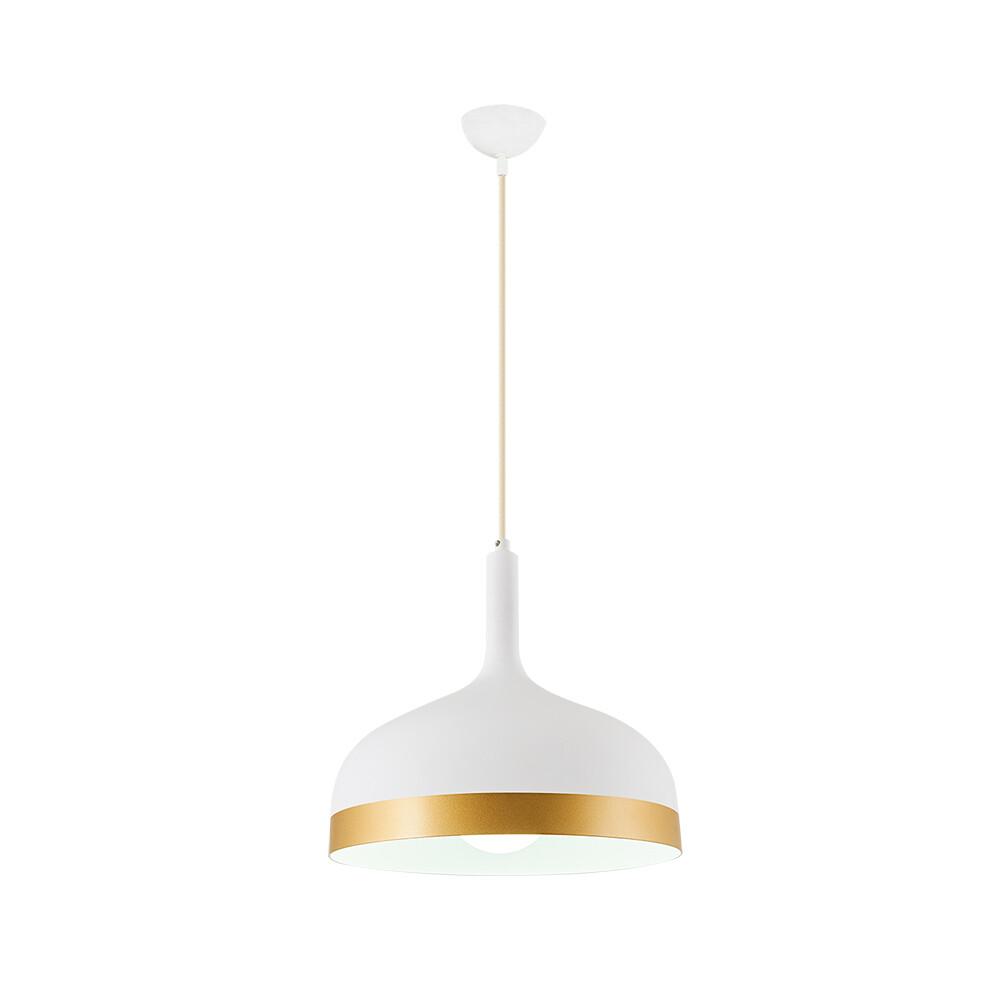 bougie pendant lamp 1xE27 white