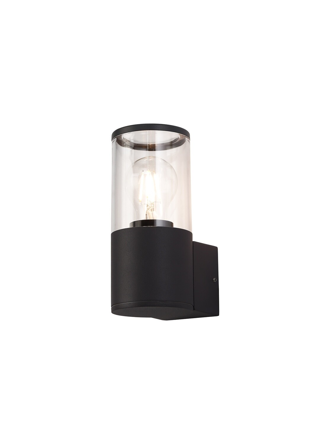 Gigil Wall Lamp 1 x E27, IP54, Anthracite/Clear