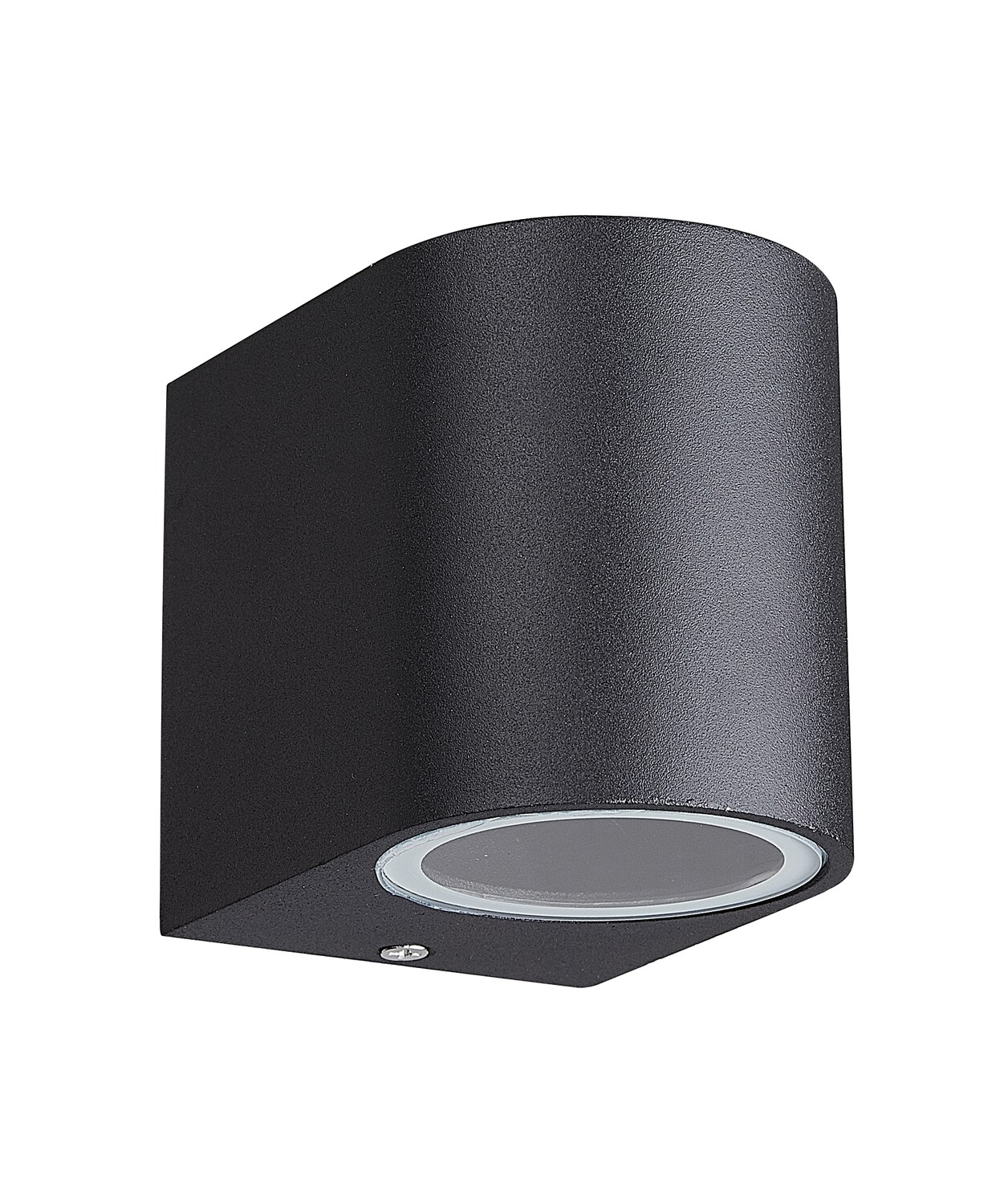 Kandanchu Round Wall Lamp, 1 x GU10, IP54, Sand Black
