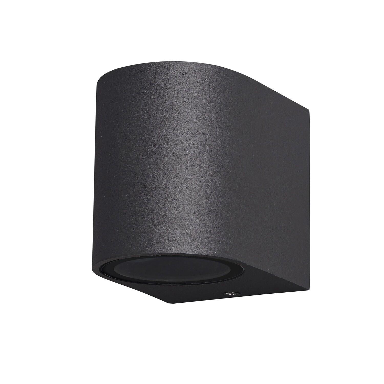 Kandanchu Round Wall Lamp, 1 x GU10, IP54, Anthracite