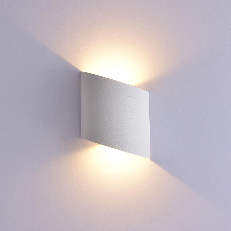 Sochi Wall Lamp, 6W LED, 3000K, 660lm, IP54, Sand White