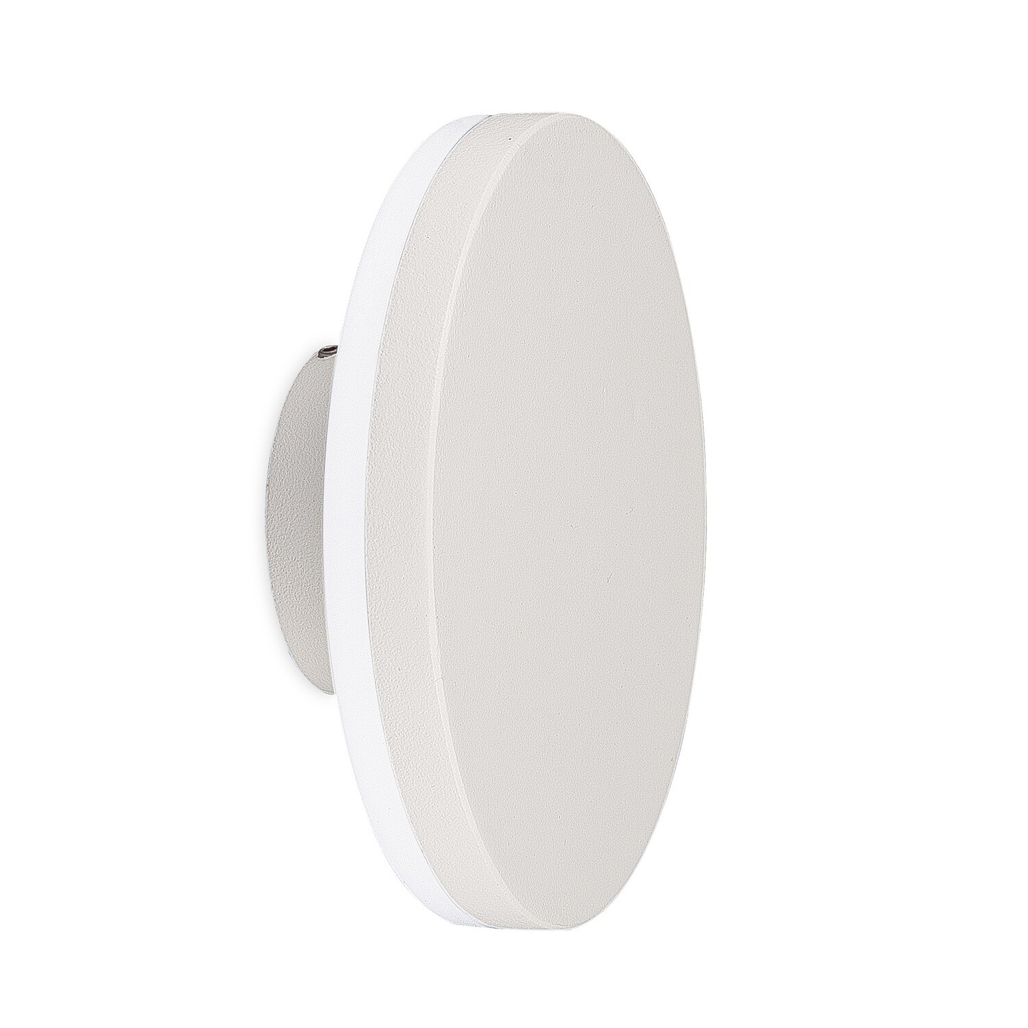 Bora Round Wall Lamp, 9.6W LED, 3000K, 720lm, IP54, White
