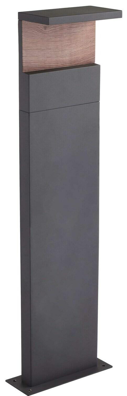 Ruka Floor Lamp H100, 13W LED, 3000K, 850lm, IP54, Anthracite/Walnut