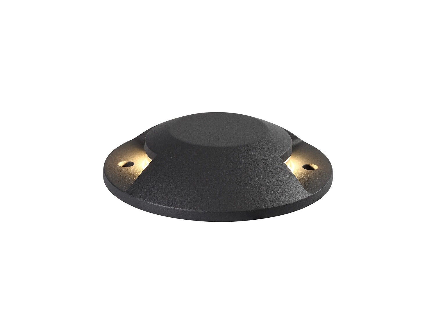 Umbriel above on ground Driveover 2 Light, 2 x 6W LED, 3000K, 256lm, IP67, IK10, Anthracite