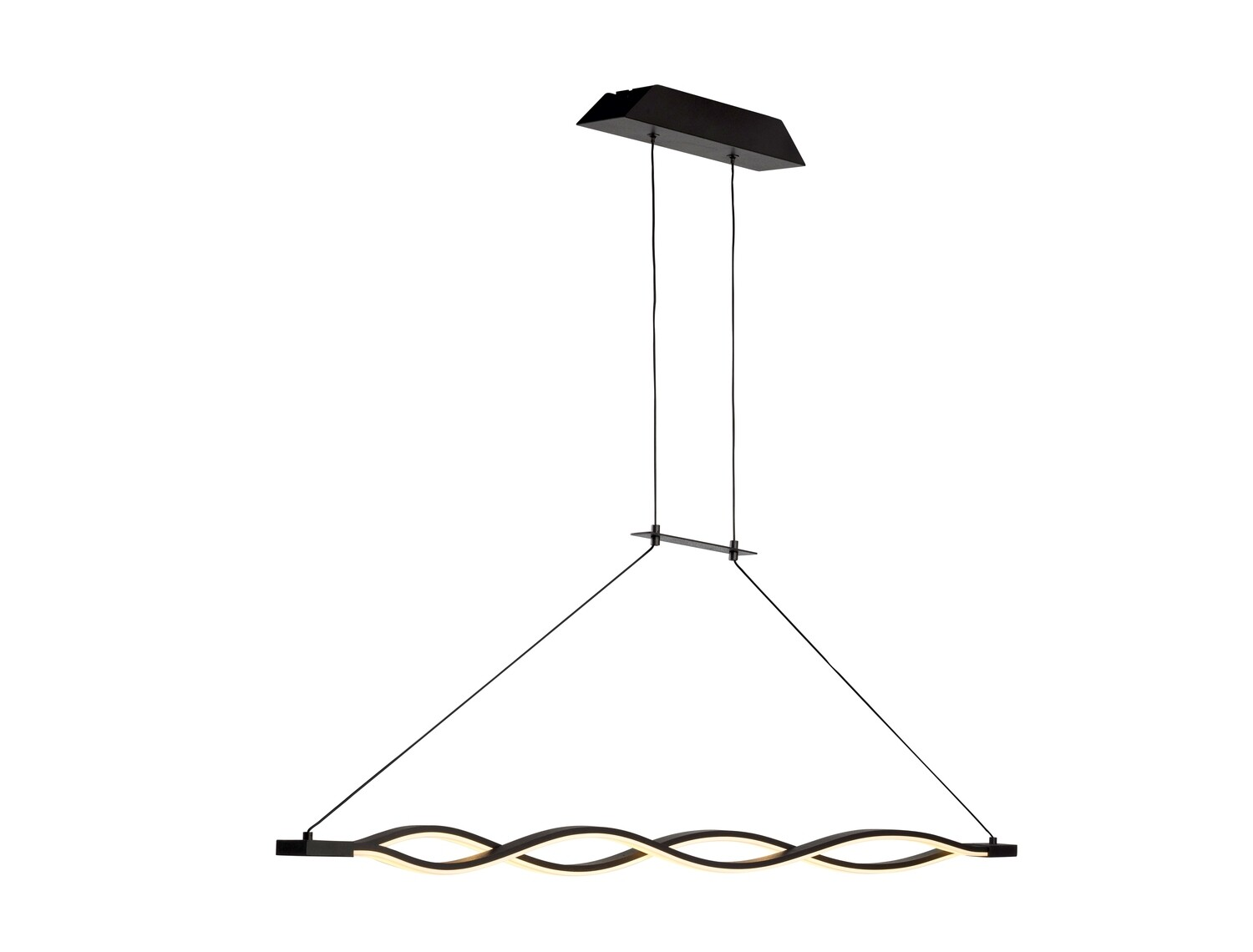 Sahara Linear Pendant 36W LED 2800K, 2520lm, DIMMABLE Frosted Acrylic, Brown Oxide