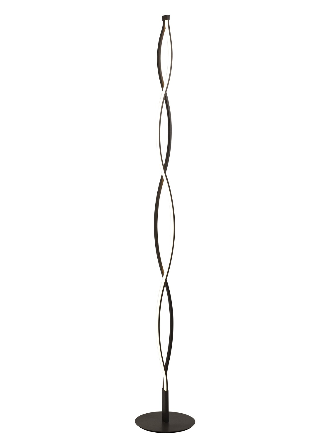 Sahara XL Floor Lamp 28W LED 2800K, 2200lm, Dimmable Frosted Acrylic/Brown Oxide