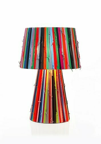Shoelaces by Metalarte Table lamp  Gr (big)
