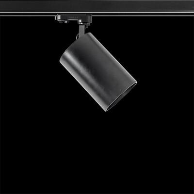 troll Luxcan R orientable track light 25 Watt 3phase, beam 36º black