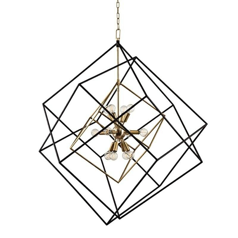 ROUNDOUT XL pendant chandelier 12xE14