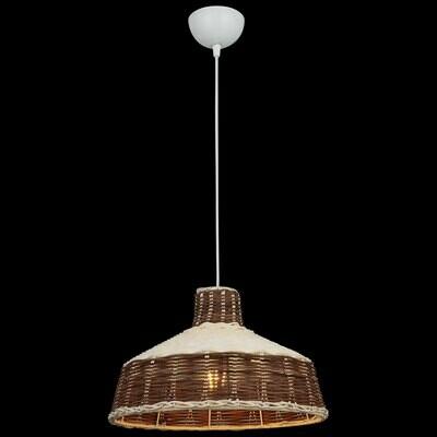 PASERA braided bamboo luminaire 1xE27 brown