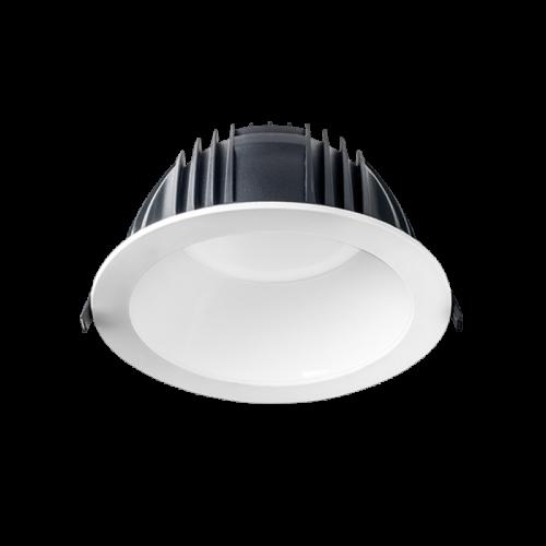 HOLE profesional LED downlight Ø220 35W White