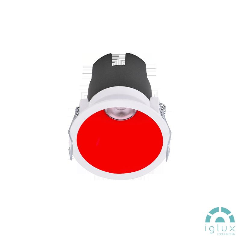 FUJI LED Spot-light 6W White/Red