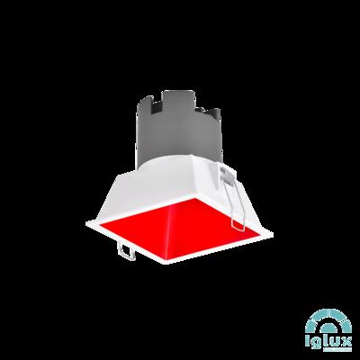 TAMBORA LED Spot-light 8W White/Red