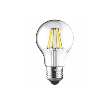 E27-LED filament-A60 12 Watt 2700K (warm white) 1521lm clear DIMMABLE