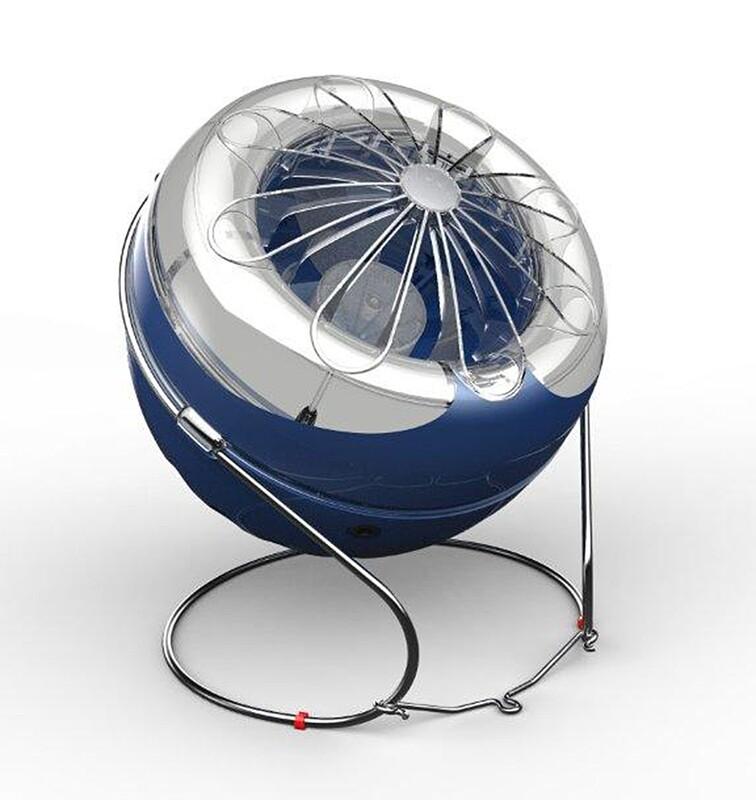 Cri-Cri Moon Designer Insect Fan