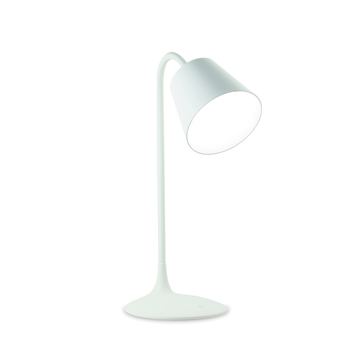 Reading Touch Dimmable / Rechargable / Adjustable Table Lamp 3.2W LED 5000-6500K,120lm,White