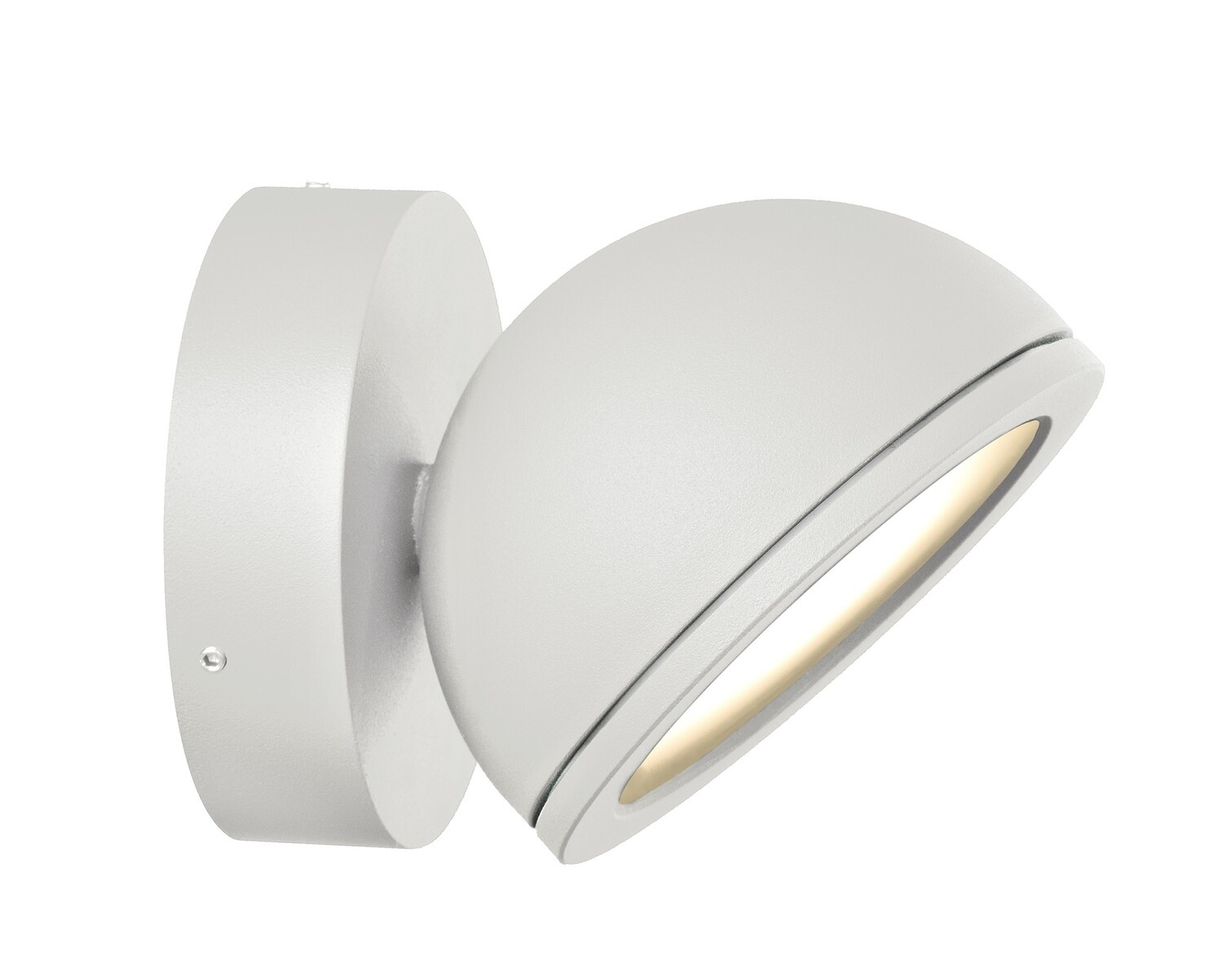 Everest Wall Lamp for GX53 LED lightsource, IP54, White
