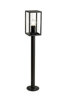 Gata Tall Post, 1 x E27, IP54, Graphite Black