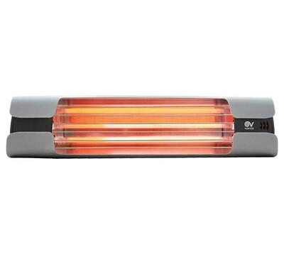 Thermologika Design Quartz infrared radiant heater 1800W medium grey
