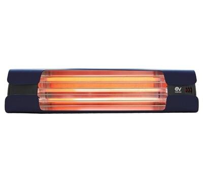 Thermologika Design Quartz infrared radiant heater 1800W dark blue