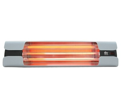 Thermologika Design Quartz infrared radiant heater 1800W light grey