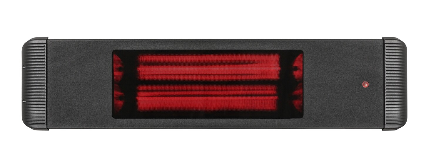 Moel Aaren Infrared Heater 1800 W black with remote control