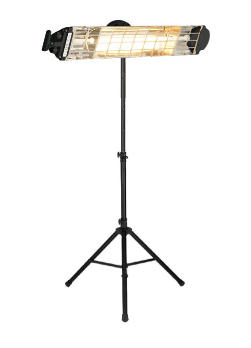Moel Fiore 1800 portable halogen infrared heater 1800W