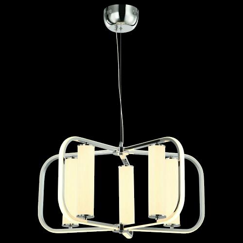 AMARA 5 LIGHT 160W 11200lm  LED CHROME CHANDELIER