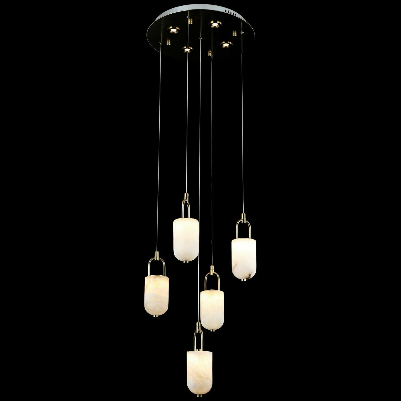 LOVCEN 5 LIGHT LED CHANDELIER 5x5W +4x3W