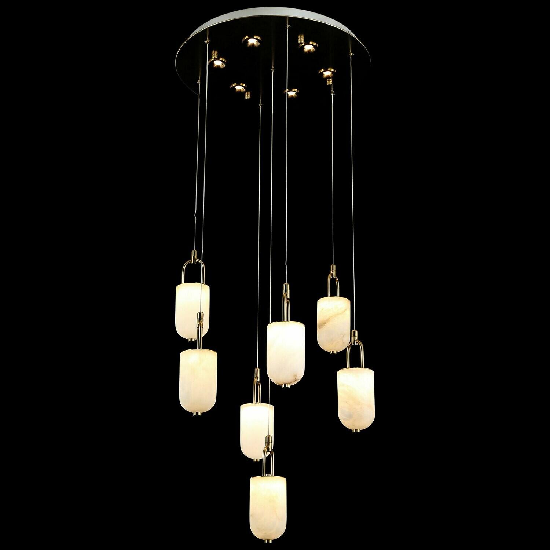 LOVCEN 7 LIGHT LED CHANDELIER 7x5W +6x3W