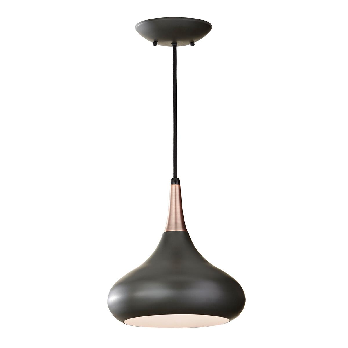 Feiss Beso 1 Light Medium Pendant – Dark Bronze