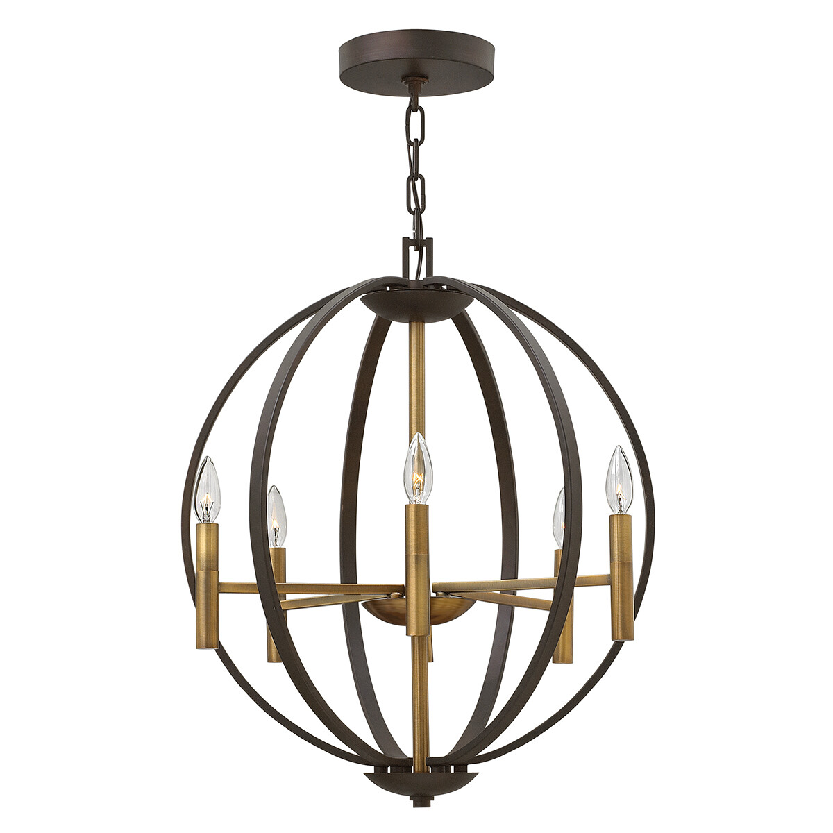 Hinkley Euclid 6 Light Pendant Chandelier
