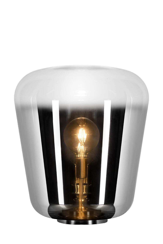 GLORIO - Table lamp - Ø 45 cm - 1xE27 - Smoke Grey