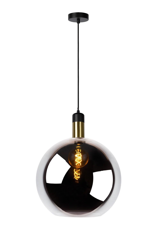 JULIUS - Pendant light - Ø 40 cm - 1xE27 - Smoke Grey