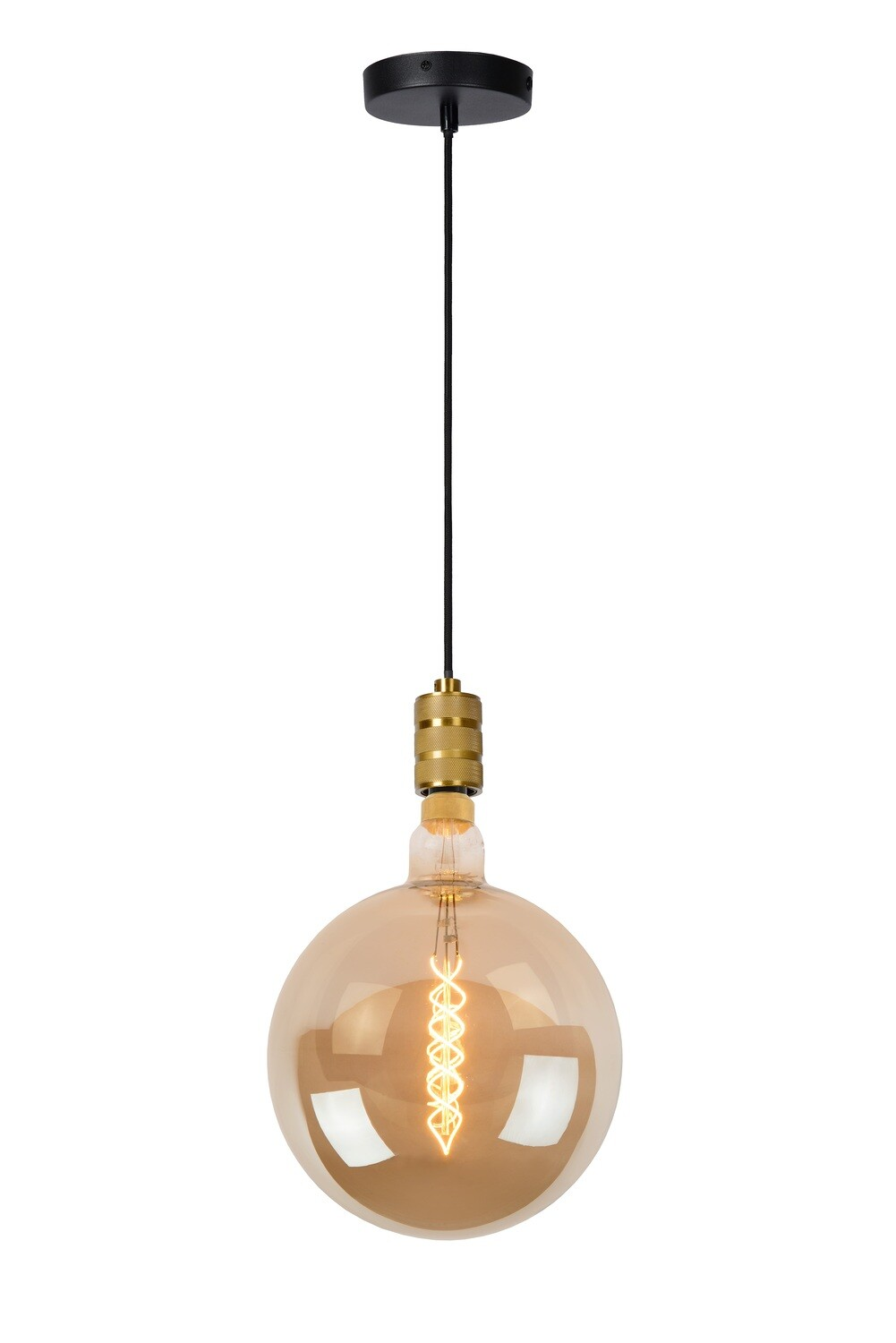 JOVA Pendant E27 Gold with Giant Filament Bulb dimmable