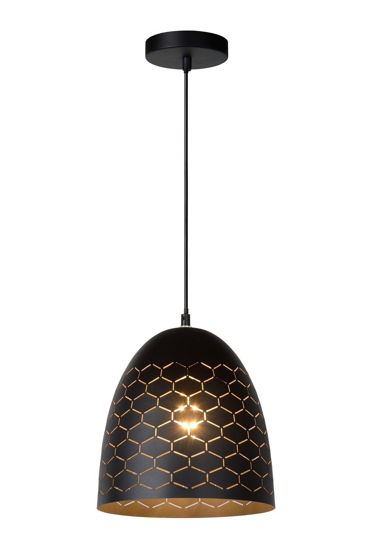 GALLA - Pendant light - Ø 25 cm - 1xE27 - Black