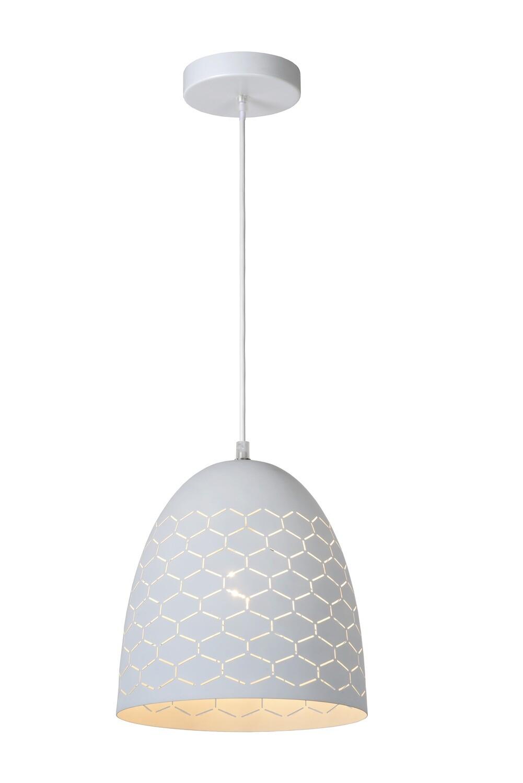 GALLA - Pendant light - Ø 25 cm - 1xE27 - White