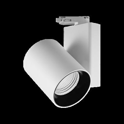 MILLER orientable track light 30 Watt 3phase, beam 24º white