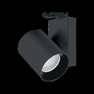 MILLER orientable track light 30 Watt 3phase, beam 24º black