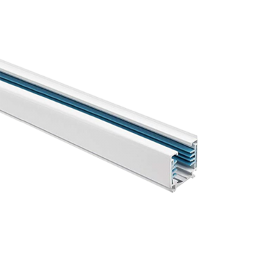 3 phase 5-wire rail (3 phases, neutral and earth) for IGLUX 3 phase Track-Spots WHITE