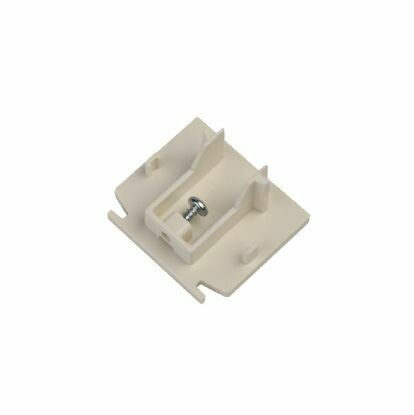 Endcap for IGLUX 3 phase 5-wire rail WHITE