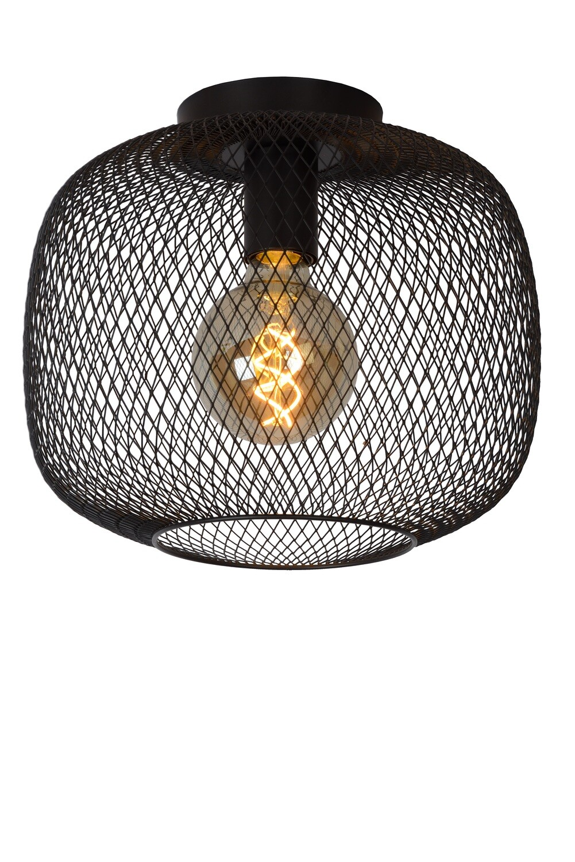 MESH Ceiling light Ø 30cm E27 Black