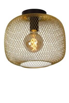 MESH Ceiling light Ø 30cm E27 Matt Gold / Brass