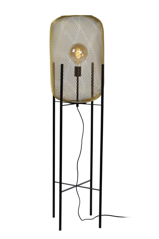 MESH Floorlamp Ø39cm E27 Matt Gold / Brass